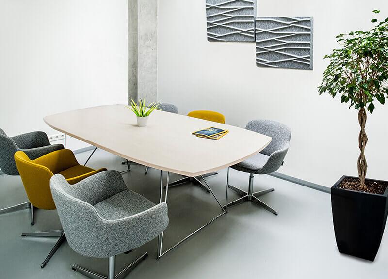 мягкие стулья для офиса Тока