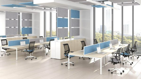 Bench Desks Nova U Task Chairs Eva.ii Acoustic Panels Modus 1 1920x1080