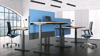 регулируемые по высоте столы Active